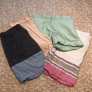 Gap Boyfriend Fit Rollup Shorts